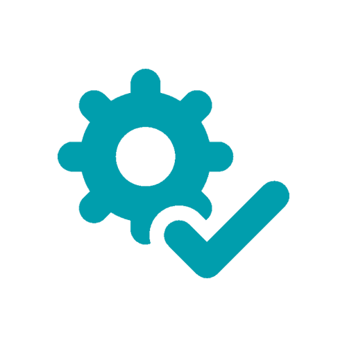 Automatisierte Prüftechnik Icon